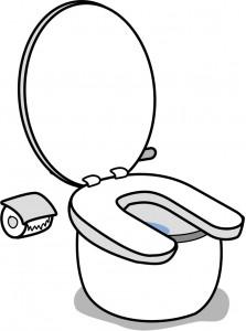 トイレを清潔にする