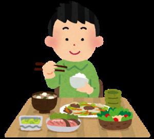 栄養バランスの優れた食事
